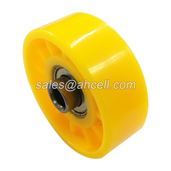 SWS50 Precision Bearing Insert Wheel ABS POM Plastic Conveyor Skate